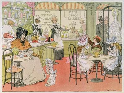 The Tea Shop, from The Book of Shops, 1899