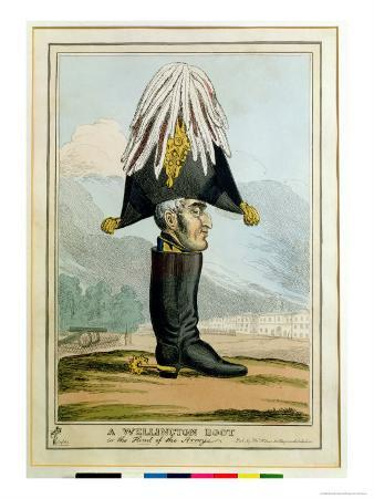 Wellington Boot, the Head of the Army