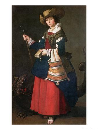 Saint Margaret of Antioch, 1630-34