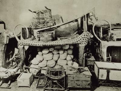 View of the Antechamber of the Tomb of Tutankhamun Looking West, Valley of the Kings, November 1922