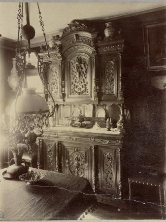 Interior of the Home of an Employee in the Louvre Shops, Rue St. Jacques, Paris, 1910
