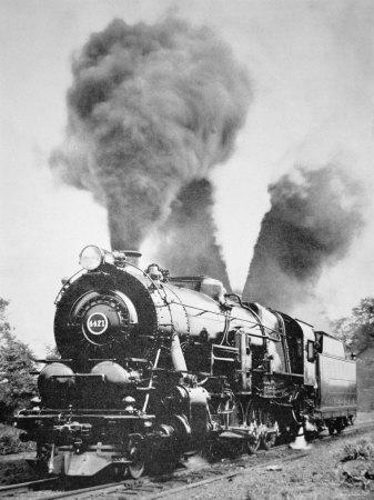 Decapod Locomotive, 1923