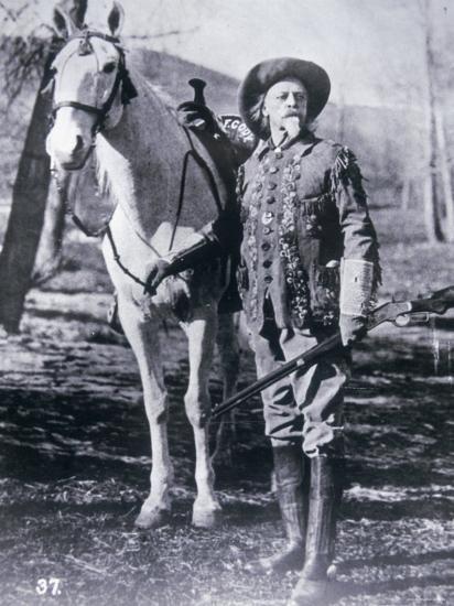 Buffalo Bill Cody Photographic Print At Allposters Com