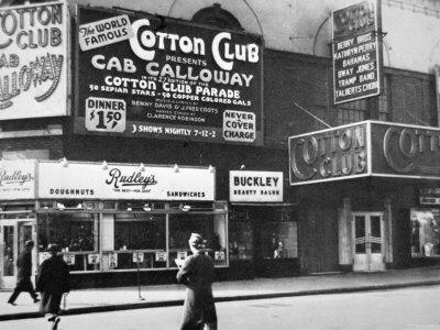 The Cotton Club in Harlem, New York City, c.1930