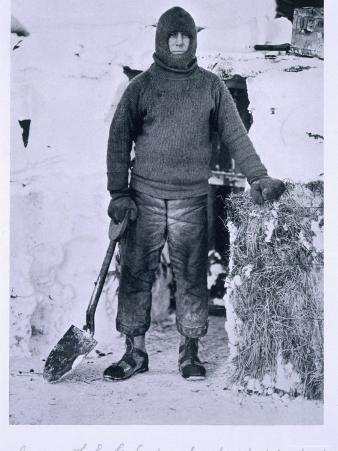 Captain Oates by the Stable Door, from Scott's Last Expedition