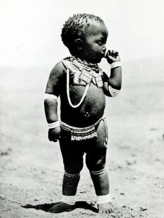 Zulu Girl Sucking First Finger