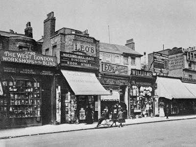 View of Notting Hill Gate, c. 1913