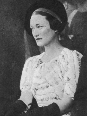 Wallis Simpson, 1936
