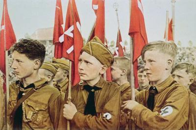 Hitler Youth Parade, Nazi Germany, 1933