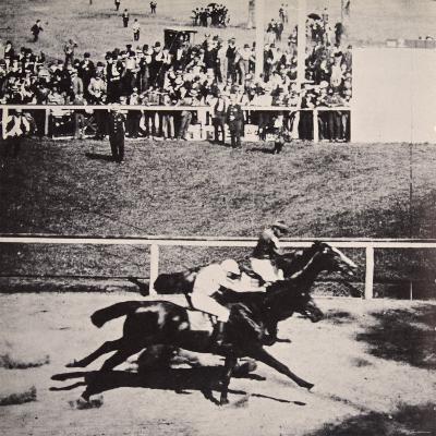Salvator Beats Tenny at Sheepshead Bay by a 'Throat Latch', 25th June 1890