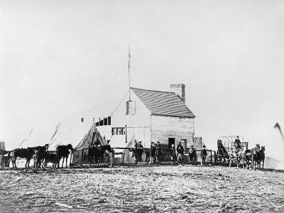 Headquarters of Sanitary Commission, Brandy Station, Virginia, 1863