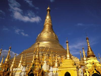 Golden Stupa of Shwedagon Pagoda, Yangon, Myanmar