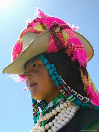 Tibetan Girl, Tibet, China