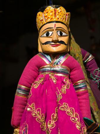 Puppet Souvenirs at Pushkar Camel Fair, India