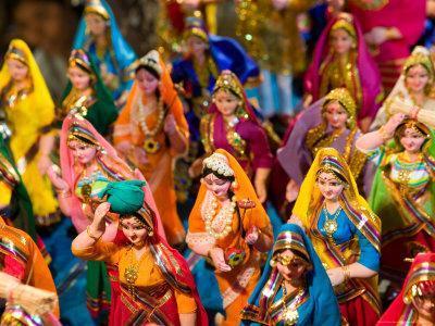 Figurines at the Saturday Market, Goa, India