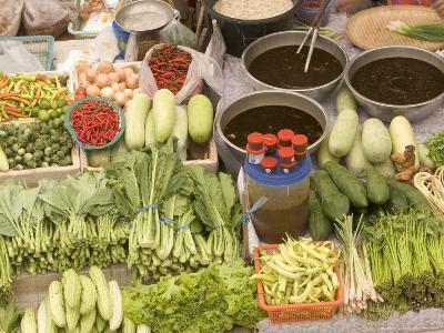 Vegetable and Food, Khon Kaen, Thailand