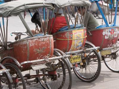 Bicycle Taxi, Khon Kaen, Thailand