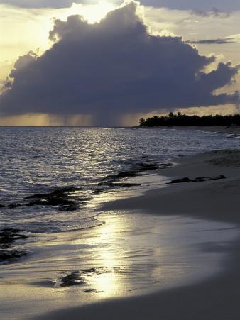Rouge Beach on St. Martin, Caribbean