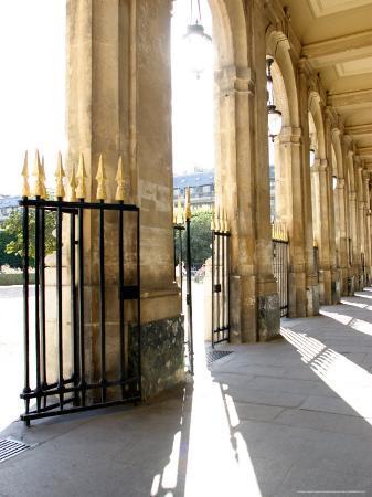 Jardin du Palais Royal, Royal Palace Garden, Paris, France