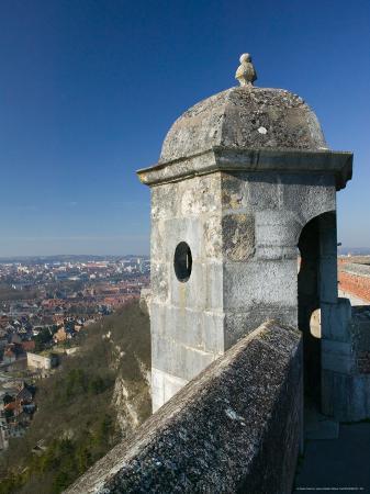 Bescancon Citadelle, Fortress Lookout, Built in 1672, Bescancon, Jura, Doubs, France