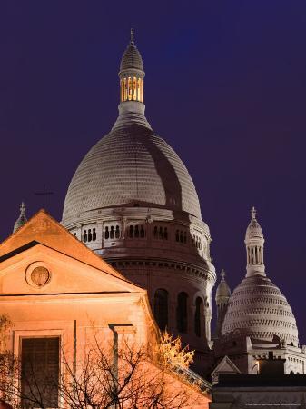 Basilique du Sacre Coeur, Place du Tertre, Montmartre, Paris, France