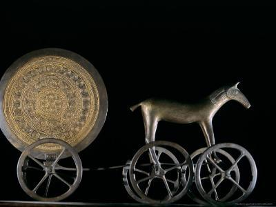 Solar Disk with Chariot and Horse Replica, Bronze Age, Germany