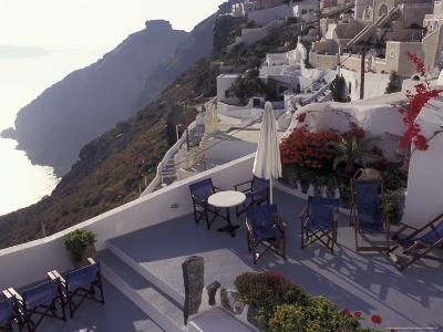 Hotel Between Fira and Imerovigli, Greece