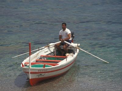 Boat Tours at Mazzaro Beach, Taormina, Sicily, Italy