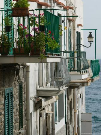 Building Detail, Ischia, Bay of Naples, Campania, Italy