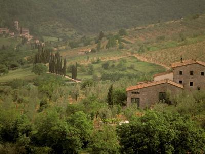 Tuscan Villa View, Radda in Chianti, II Chianti, Tuscany, Italy