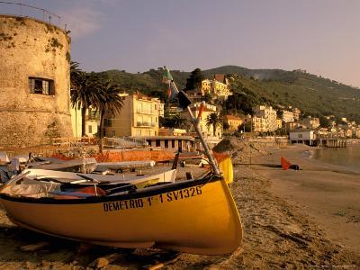 Fishing Boats, Riviera Di Ponente, Laigueglia, Liguria, Portofino, Italy