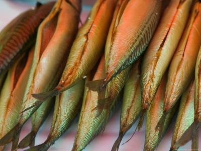 Smoked Mackerel, Bergen's Fish Market, Norway