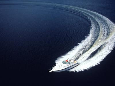 Aerial of Boat