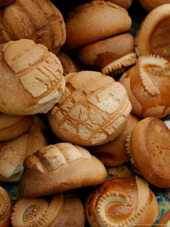 Fresh Bread Rolls, Lake Atitlan, Solola, Western Highlands, Guatemala