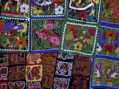 Hand-Stitched Molas, Kuna Indian, San Blas Islands, Panama