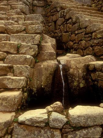 Incan Ruins, Machu Picchu, Peru
