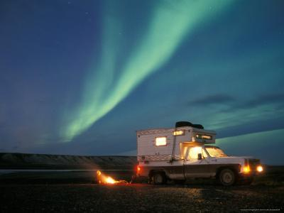 Northern Lights, North Slope of Brooks Range, USA