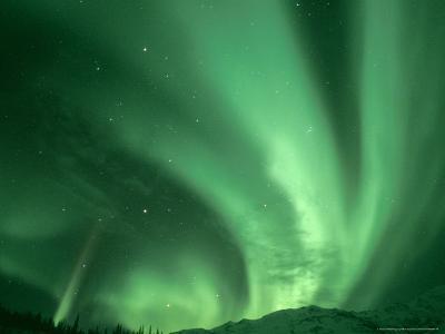 Northern Lights, Arctic National Wildlife Refuge, Alaska USA