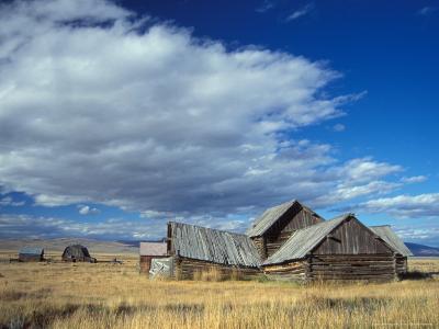 Old Ranch Outside Yellowstone National Park, Idaho, USA