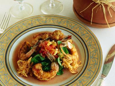 Seafood Meal at Phoenician Resort, Scottsdale, Arizona, USA