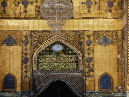 Maula Ali Shrine Wallpaper: Holy Shrine Of The Imam Ali Ibn Abi Talib, An Najaf, Iraq