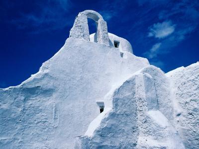 White-Washed Church of Panagia Paraportiani, Mykonos Island, Greece