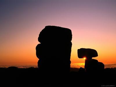 Granite Tors at Sunrise at Ramshead Range, Kosciuszko National Park, New South Wales, Australia