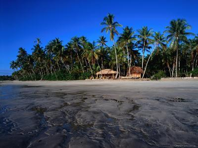 Beach Hut on Tindare Island, Todos Os Santos Bay, Itaparica, Brazil