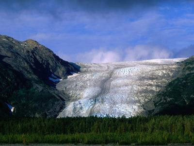 The Landlocked Exit Glacier, Kenai Fjords National Park, USA
