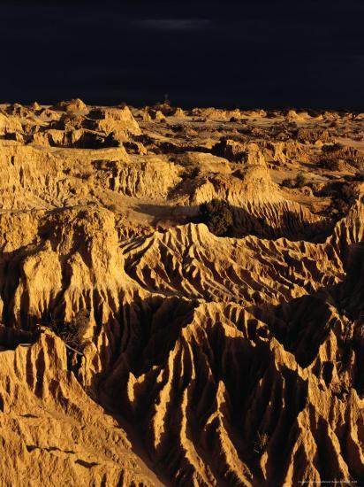 Formation Known As The Great Wall Of China Mungo National Park New