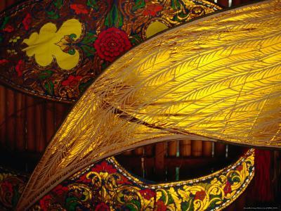 Detail of Traditional Kites, Kota Bharu, Kelantan, Malaysia