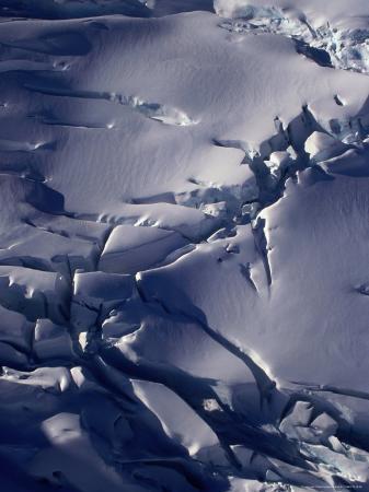 West Coast Glacier, Southern Alps, Westland National Park, West Coast, New Zealand