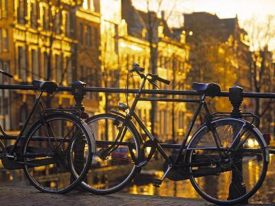 Bikes, Amsterdam, Holland