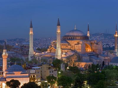 Aya Sofya Sultanahmet, Unesco World Heritage Site, Istanbul, Turkey
